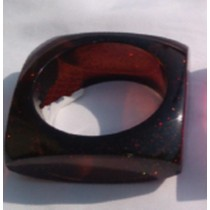 Decorative Brown Napkin Ring