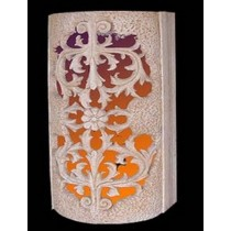Decorative Carved Design Colorful Pedestal