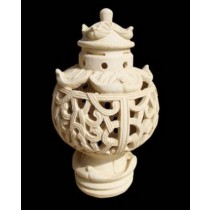 Decorative Carved Work Modern Garden Lamp