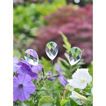 Decorative Crystal Stakes Sun Catcher Set of 3 Pcs