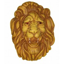 Decorative Fiberglass Lion Face