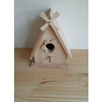Decorative Fir Wooden Bird House
