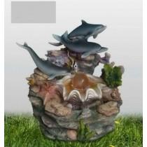 Decorative Fish Table Top  Garden Fountain