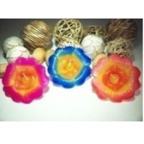Decorative Flower Shape Handmade Floating Candle(1 Pcs)