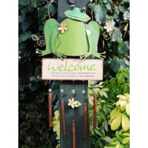 Decorative Frog Design Garden Hanging Weathervanes