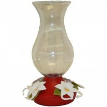 Decorative Funnel-Fill Plastic Bird Feeder