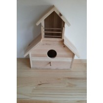 Decorative Garden Fir Wood Bird House