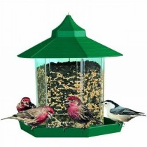 Decorative Gazebo Style  Hanging Bird Feeder
