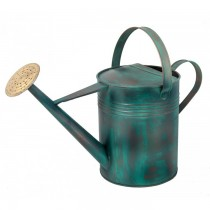 Decorative Green Copper Watering Can