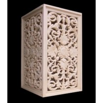 Decorative Hand Carved Design Pedestal(H 940 X W 485 X D 485 mm)