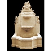 Decorative Hand Carved Design Water Fountain