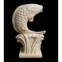 Decorative Hand Carved Fish Pattern Fountain
