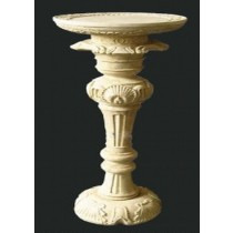 Decorative Hand Carved Roman Style Pedestal
