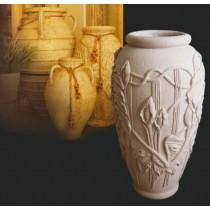 Decorative Hand Carved Unique Vase Style Flowerpot