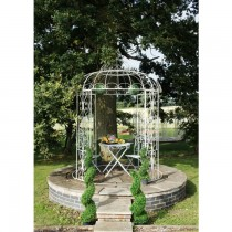 Decorative Hand Crafted Metal Gazebo