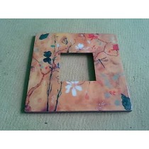 Decorative Hand Work Nature Pattern Photo Frame
