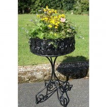 Decorative Handmade Iron Planter Stand