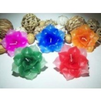 Decorative Handmade Lotus Shape Floating Candle(1 Pcs)