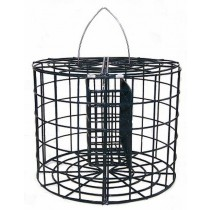 Decorative Hanging Caged Suet Bird Feeder