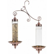 Decorative Hanging Copper Bird Feeder