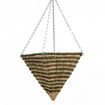 Decorative Hanging Pyramid Planter With Steel Chain