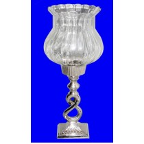 Decorative Hurricane Candle Stand 20 inches