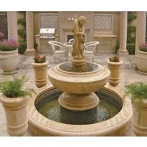 Decorative  Limestone Fountain