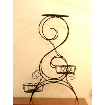 Decorative Modern 3 Tire  Pot Stand