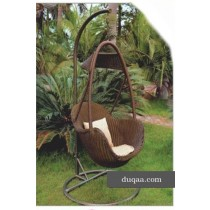 Decorative Modern Nature Cane Garden Swing