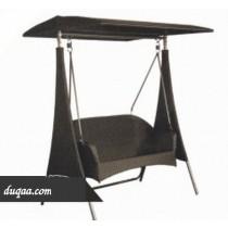Decorative Modern Wicker Garden Swing(Two Seater)