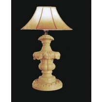 Decorative Pillar Style Sandstone Garden Lamp