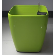 Decorative Plastic Self-Watering Square Round Planter
