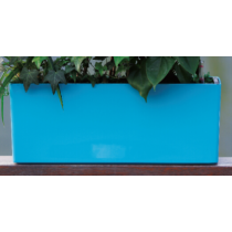 Decorative Rectangle Plastic Self-Watering Flower Pot