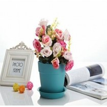 Decorative Round Plastic Pot