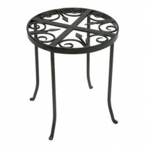 Decorative Round Metal Trivet Plant Stand