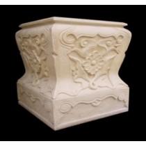 Decorative Sandstone Modern Style Pedestal(H 1100 X W 820 X D 820 mm)