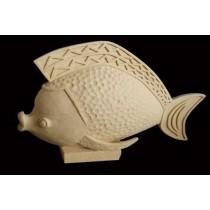 Decorative Sandstone Nimo Fish Water Fountain(H 520 X L 700 mm)