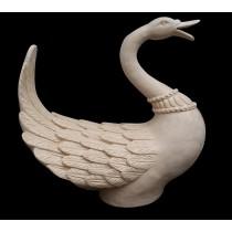 Decorative Sandstone Open Mouth Duck Bird Fountain