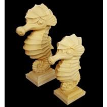 Decorative Sandstone Small Sea Horse Fountain(H 900 mm)