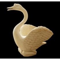 Decorative Sandstone Swan Shape Water Fountain(H 860 X W 860 X L 800 mm)