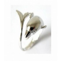 Decorative Silver Plated Fish Napkin Ring