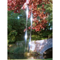 Decorative Steel Ribbons Hanging Weathervanes