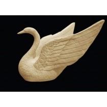Decorative Swan Bird Sandstone Water Fountain(H 600 X W 800 X D 600 mm)