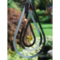Decorative Tear Drop Crystal Weathervanes