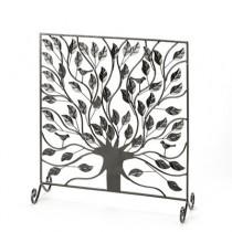 Decorative Tree Design Fire Screen