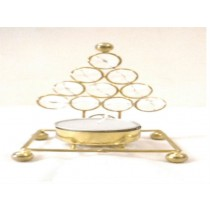 Decorative Tree Design T-Light Holder 3.5""