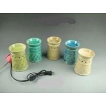 Decorative Twisted Ceramic Electric Wax Warmer Oil Burner(Set Of 5)