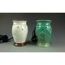 Decorative Vase Shape Electric Wax Warmer Oil Burner(Set Of 2)
