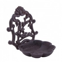 Decorative Wall Mounted Cast Iron Bird Bath