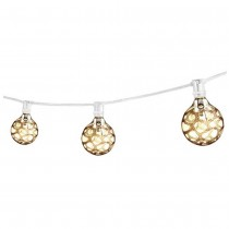Decorative White Incandescent String Light Set